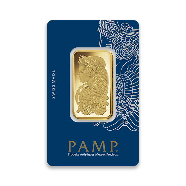 PAMP Suisse 1Oz Gold Bar