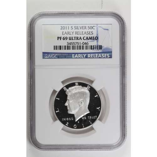 2011-S EARLY RELEASES ULTRA CAMEO NGC PF-69