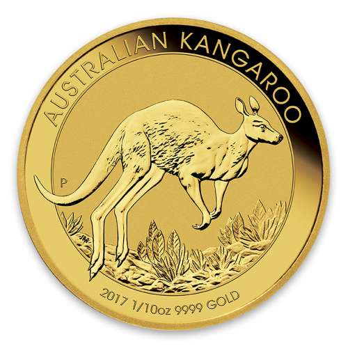 Any Year 1/10oz Bullion Nugget / Kangaroo Coin