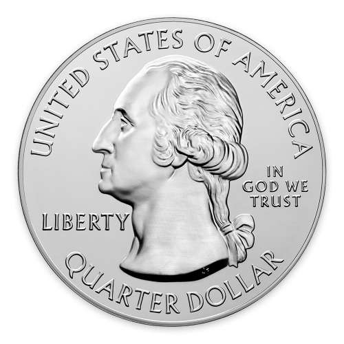 2018 5 oz Silver America the Beautiful Voyageurs National Park