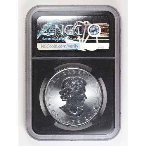 2019-5 Maple Leaf - Incuse First Day of Issue  NGC MS-70